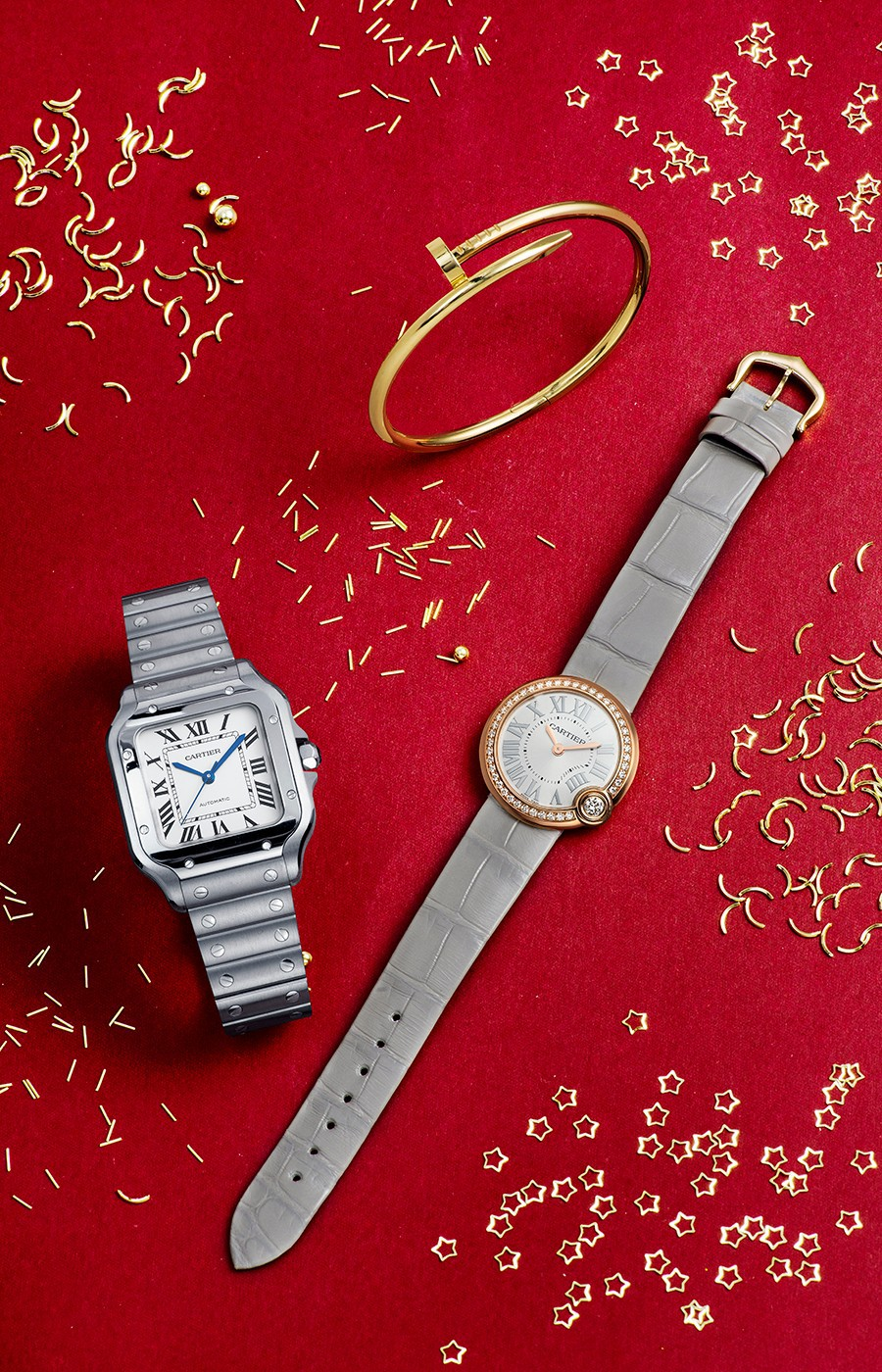 卡地亚手表更换表盘